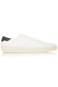 Think of these as a clean canvas—the perfect finish for brights, neutrals, and everything in between. Saint Laurent by Hedi Slimane Court Classic Sneakers, $595; fwrd.com   - MarieClaire.com