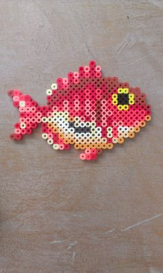 """It was a kid's game! (I really have to stop saying things like … – Loom, Perler Beads, Bügelperlen usw. Melty Bead Patterns, Pearler Bead Patterns, Perler Patterns, Beading Patterns, Peyote Patterns, Perler Bead Templates, Diy Perler Beads, Perler Bead Art, Bordado Tipo Chicken Scratch"