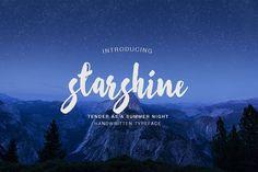 Starshine from FontBundles.net