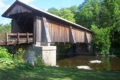 Livingston Manor Covered Bridge Park, built in 1860