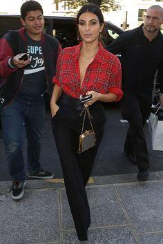 Out during Paris fashion week on September 25.