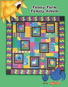 Quilts From the Funny Farm Book by Tricia Cribbs www.TurningTwenty.com