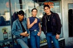 The Outsiders-Johnny Cade, Ponyboy, & Dally
