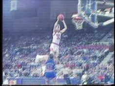 Tom Chambers looks like he's riding an escalator during this dunk.