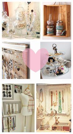 pretty jewellery storage