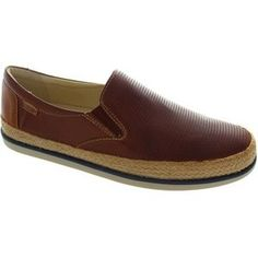 Pikolinos linares m2g-3094 men's cuero slip on perforated leather loafers Espadrilles / Casual Shoes
