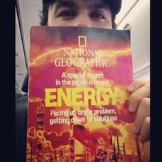 "Ian Somerhalder - ""Reading material for the plane to Brussels-from February 1981.Whats changed since then...?"""