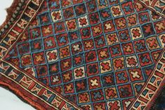 Aktuell in den Rare front of a bag, Iran, antique! 36 x 30 cm Iran, 30th, Bohemian Rug, Antiques, Bags, Home Decor, Antiquities, Handbags, Antique