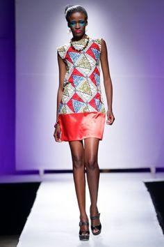 Mucha @ Zimbabwe Fashion Week 2013 - Day 2   FashionGHANA.com #African #Fashion #Style #Ankara #kente