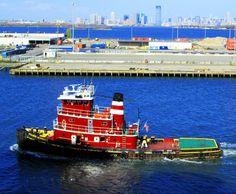 Red Tug Boat|Love's Photo Album