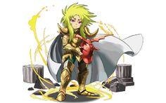 Anime Chibi, Manga Anime, God Of War, Cartoon Pics, Marvel Dc, Canvas, Knight, Saints, Nerd