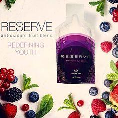 """zpr """"RESERVE"""" Terobosan Besar dalam Dunia Kedokteran Abad 21. ★★★★★★★★★★ ●Made in USA ●Alami ●BestProduct ●Best Quality ●A Solution For Your Healthy ●BPOM Certified ●HALAL Certified ●FDA Certified .  Selain Resveratrol, setiap 1 sachet RESERVE Mengandung : 1. Dark Cherry Juice (buah ceri), ini mengandung zat besi paling banyak dan berfungsi mempercepat regenerasi protein darah merah.  2. Blueberry, mengandung vitamin C, E dan Anthocyanin, untuk mencegah berbagai penyakit kanker dan penyakit…"""