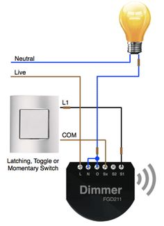 Yellow With Red And Black Wires Dimmer Switch together with Installing Dimmer Switch Diagram as well Somfy Switch Wiring Diagram likewise Series Electrical Circuit Diagrams Simple further 2 Gang Switch Wiring Diagram. on z wave controller wiring diagram