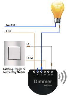 APNT-1 - Installing Fibaro Dimmer Modules | Vesternet