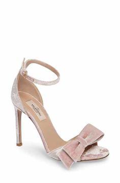 VALENTINO GARAVANI Bow Trim Sandal (Women)