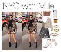 """""""Millie Bobby Brown"""" by prefrences1011 ❤ liked on Polyvore featuring WearAll, ADAM, Miss Selfridge, Kendra Scott, Bling Jewelry, Cartier and Too Faced Cosmetics"""