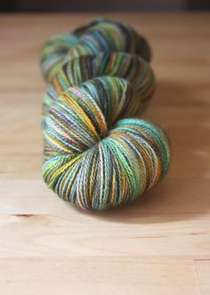 Lace weight and hand dyed deliciousness (merino silk - amazing!) by phydeaux designs on @Etsy