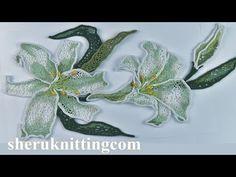 How to Crochet Art Floral Project Tutorial 90 Irish Lace Art Au Crochet, Russian Crochet, Crochet Cross, Freeform Crochet, Mandala Crochet, Irish Crochet Tutorial, Crochet Flower Tutorial, Crochet Bolero Pattern, Crochet Motif Patterns