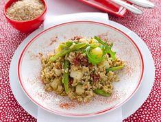 insalata di riso integrale al pesto Sale&Pepe ricetta