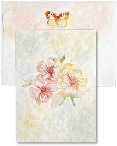 A7 FOLDED CARD and Envelopes - Super fast and easy!