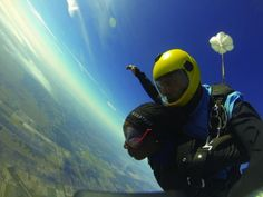 A skydive before an ultramarathon—would you run this race? Read one runner's incredible account.