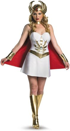OMG !!! She Ra costume, she was one of my childhood heroes !! Love she Ra   Only I don't have blond hair :(
