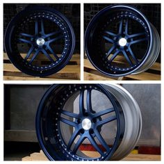 """split 5 star wheels Spec-B issforged Complex-5 wheels shown in our special Night Crawler Blue finish! Available in sizes 17""""-22"""", meticulously #handcrafted for performance and made to order. Contact us today and get your order started! E: info@issforged.com pro touring"""