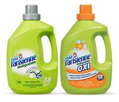 Détergent à lessive liquide La Parisienne à 1$ à partir du 23 - Quebec echantillons gratuits