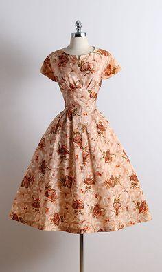 2016a23e8cb Vintage 50s Dress 1950s cocktail dress by millstreetvintage Vintage Wear