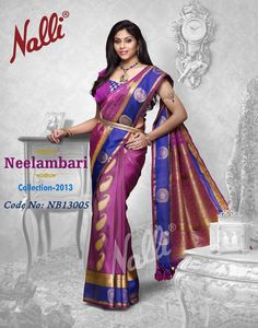 Product Code NB13005 - We show you how to add flair to any occasion with hot violet with peacock blue...