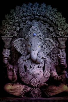 Lord Ganesha is one of the most popular Hindu deity. Here are top Lord Ganesha images, photos, HD wallpapers for your desktop and mobile devices. Ganesha Tattoo, Ganesha Art, Krishna Art, Lord Murugan Wallpapers, Lord Vishnu Wallpapers, Lord Ganesha Paintings, Lord Shiva Painting, Karma Yoga, Motion Images
