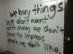 graffiti, grunge, indie, tumblr, dark pale, dave ramsey quote