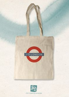 6b1abe66aa ECO BAG linen bag LONDON Underground by FDfeeriedoll on Etsy, $15.00