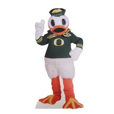 30-Inch Stand Up Mounted Oregon Duck Mascot...MUST. GET. NOW.