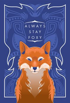 Digital art selected for the Daily Inspiration #1201 | hey girl Stay Foxy | nice color by the way