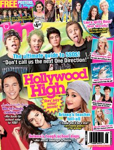 5 Seconds of Summer totally made the cover of our September 2014 issue! What do you think? Best Fashion Magazines, Teen Magazines, Selena Gomez Poster, Private Diary, Star Magazine, School Notes, 5 Seconds Of Summer, 5sos, Celebrity News