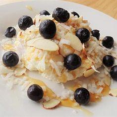 Creamy Blueberry Coconut Ricotta Bowl - Allrecipes.com