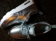 """Air Max Thea Metallic Silver Platinum """"by me"""""""