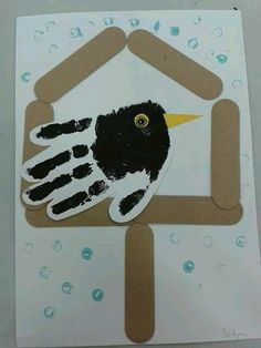 This newspaper polar bear craft is perfect for a winter kids craft, preschool craft, newspaper craft and arctic animal crafts for kids. Winter Crafts For Kids, Winter Kids, Winter Art, Winter Theme, Spring Crafts, Art For Kids, Bear Crafts, Animal Crafts, Handprint Art