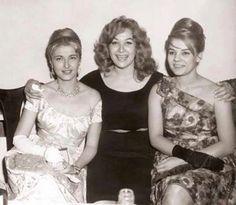 Egyptian actresses Mariam Fakhreddine (left), Hoda Soltan (centre) and Nadia Lotfy (right), taken in the early Egyptian Beauty, Egyptian Women, Egyptian Art, Egypt Movie, Egyptian Movies, Arab Celebrities, Egyptian Actress, Old Egypt, Old Actress