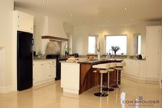 Irish Fitted Kitchens Designs you can love and use. Inframe Kitchen, Kitchen Design, Restaurant, Fitted Kitchens, Table, House, Apartments, Bespoke, Furniture