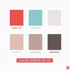 Color Palette No 22 Colorscheme Colorpalette Neutral Colour