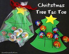 Christmas Tic-Tac-Toe a.k.a. Tree-Tac-Toe