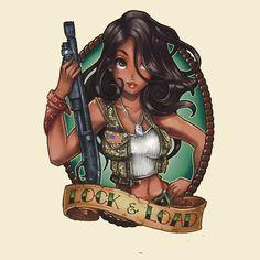 Risultati immagini per disney princess tattoo load Disney Pin Up, Disney Fan Art, Cute Disney, Punk Disney Princesses, Disney Villains, Disney Princess Tattoo, Punk Princess, Dark Disney, Twisted Disney