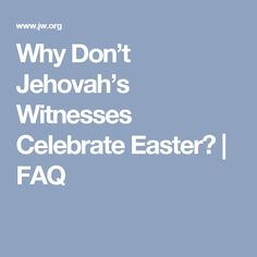 Some say Jehovah's Witnesses are not Christians. See how this and other myths have created common misconceptions. Bible Questions, Thank You Jesus, Godly Man, Jehovah's Witnesses, Heavenly Father, Christians, Self, Easter, Wisdom