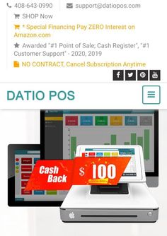 Are you looking for a POS with excellent customer service? Are you tired of being locked in a contract? Would you like to get $100 cash back? Would you like to try our software for free? Call us today and ask us how!! We are happy to assist you. You will always get a live person. You can call or text. Excellent Customer Service, Point Of Sale, Cash Register, Pos, Tired, Software, Happy, Point Of Purchase
