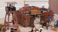 Playmobil 3419 vintage 80´s Western FORT RANDALL boxed LGB