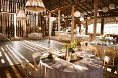 loving barn weddings