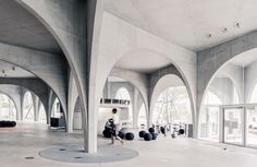 Tama Art University Library - Toyo Ito | Flickr - Photo Sharing!