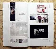 Snitt Magazine Magazine for Visual Communication, Norway Brooks Brinkman 4 Magazine Design Inspiration, Magazine Layout Design, Layout Inspiration, Graphic Design Inspiration, Design Ideas, Web Design, Graphic Design Layouts, Brochure Design, Book Design